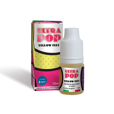 Liquido UltraPop Yellow Fizz 10ml