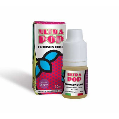 Liquido Ultra Pop Crimson Juice 10ml