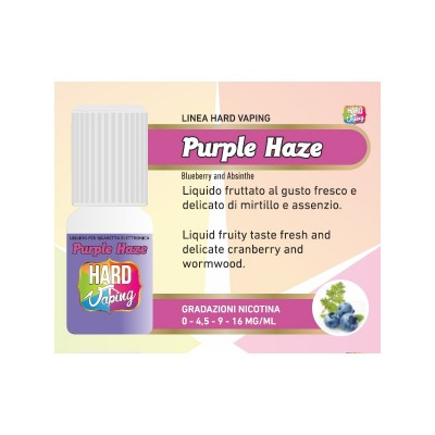 Liquido Hard Vaping Purple Haze 10ml