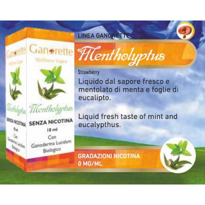 Liquido Ganorette Mentholyptus senza nicotina