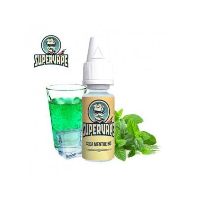 Aroma Supervape Soda menthe bio da 10ml