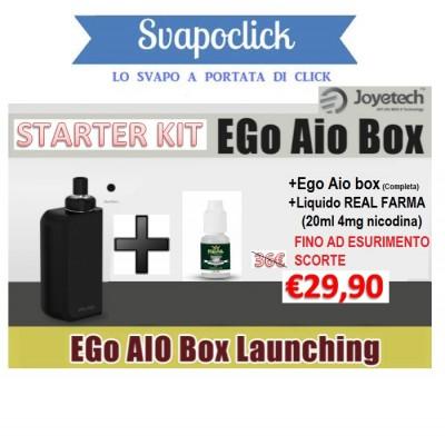 EgoAio + liquido omaggio Starter Kit
