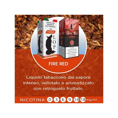 Liquido Lop Fire Red 10ml