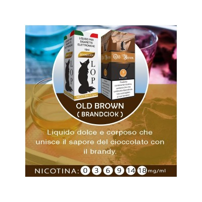 Liquido Lop Old Brown 10ml
