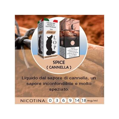 Liquido Lop Spice senza nicotina 10ml